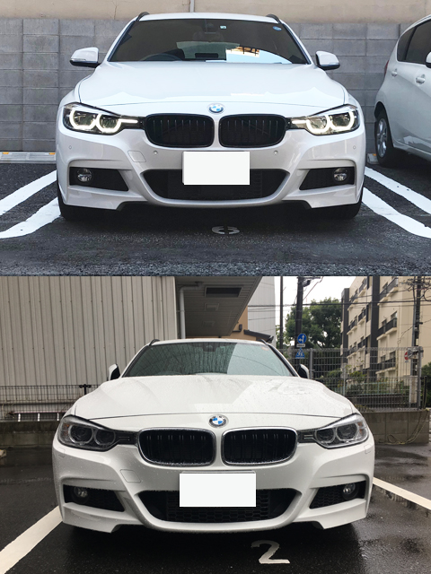 フロント比較|bmw・3・M・Edition Shadow